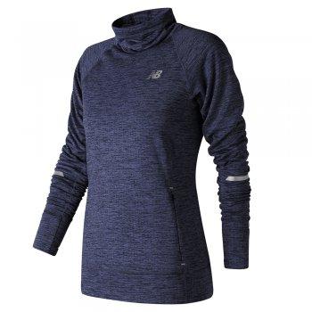 bluza new balance heat pullover pgh w granatowa