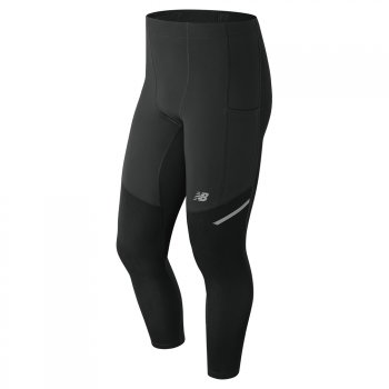 legginsy new balance heat tight bk mp83247bk m czarne