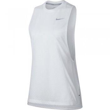 koszulka nike dri-fit tailwind tank w biała