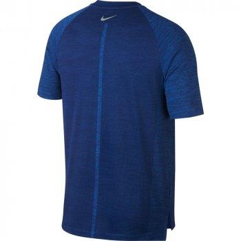 koszulka nike dri-fit medalist short-sleeve top m niebieska