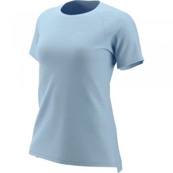koszulka nike tailwind short-sleeve top w blado-błękitny