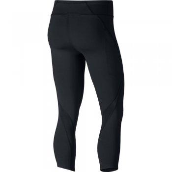 spodnie nike epic lux 21.5 crops w czarne