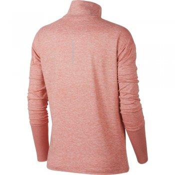 bluzka nike half-zip top w różowa