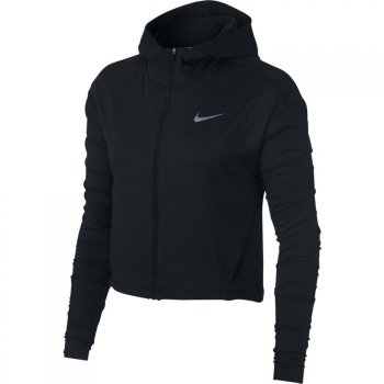 bluza nike element full-zip running hoodie w czarna