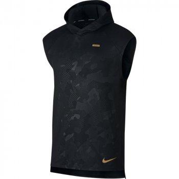 koszulka nike element sleeveless hoodie m czarna