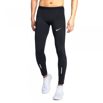 legginsy nike tech 28.5 running tights m czarne