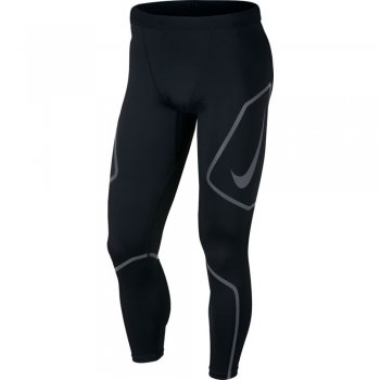 legginsy nike tech tights m czarne