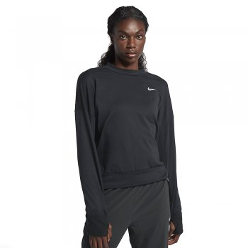 bluzka nike therma sphere long sleeve top w czarna