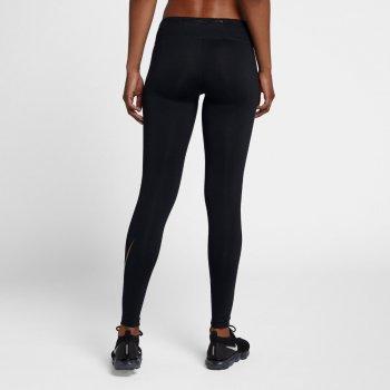 legginsy nike flash essential tights w czarne