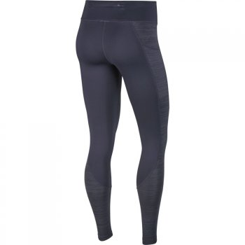 legginsy nike racer warm tights w szare