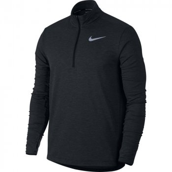 bluza nike therma sphere half-zip top m grafitowa