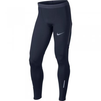 nike tech running tights m obdydian
