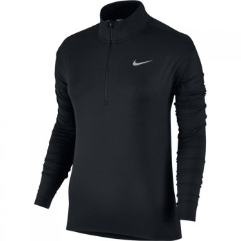 bluza nike dri-fit half zip top w czarna