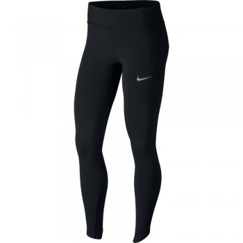 legginsy nike epic lux running tights w czarne