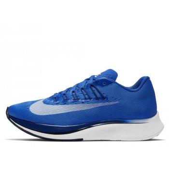 buty nike zoom fly w biało-niebieskie