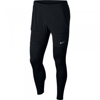 spodnie nike essential running pants m czarne