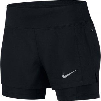 spodenki nike eclipse 2-in-1 shorts w czarne