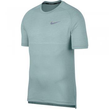 koszulka nike dri-fit medalist short-sleeve top m szaro-zielona