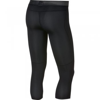 legginsy nike pro hypercool 3/4 tights m czarne