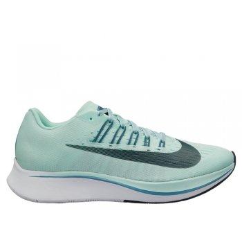 buty nike zoom fly w błękitno-zielone