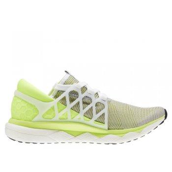 buty reebok floatride run flexweave w biało-Żółte