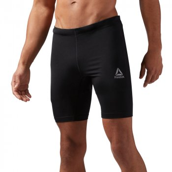 spodenki reebok running essentials workout brief m czarne