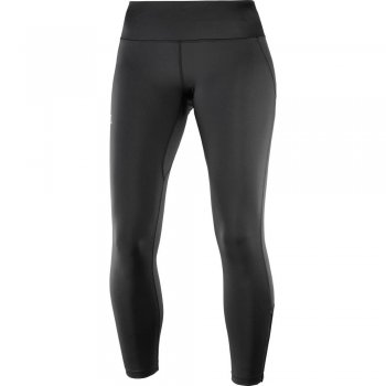 legginsy salomon agile long tight w czarne