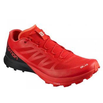 buty salomon s-lab sense 7 sg m czarno-czerwone