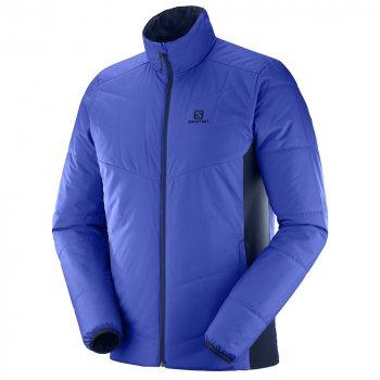 kurtka salomon drifter mid jacket m granatowa niebieska