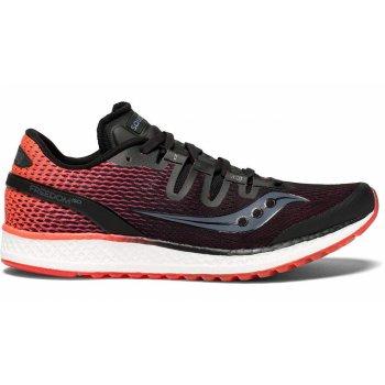 buty saucony freedom iso w czerwono-czarne