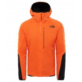 kurtka the north face ventrix hoodie vented/hooded jacket m czarno-pomarańczowa
