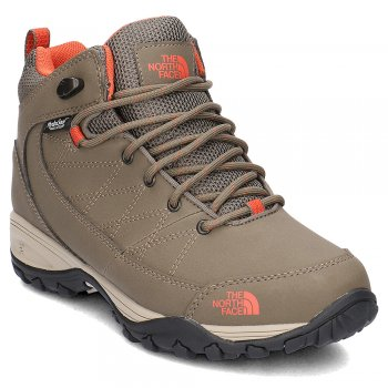 buty the north face storm strike wp insulated boots w beżowo-brązowe