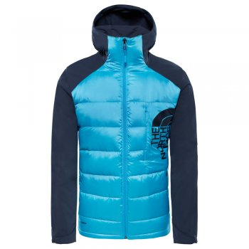 kurtka the north face peakfrontier hybrid jacket m granatowo-błękitna