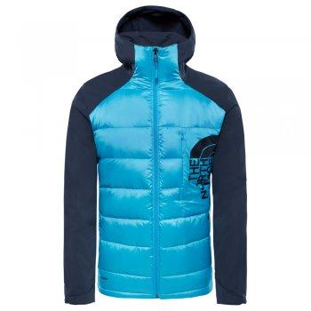 kurtka the north face peakfrontier hybrid jacket m granatowo-błękitna