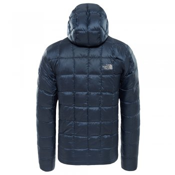 kurtka the north face kabru hooded down jacket m granatowa