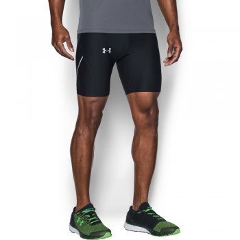 spodenki under armour run true half tight m czarne