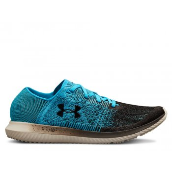 buty under armour ua threadborne blur m czarno-błękitne