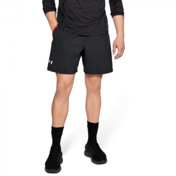 spodenki under armour ua launch 2-in-1 graphic shorts m czerwono-czarne