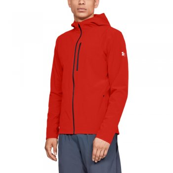 kurtka under armour outrun the storm jacket m czerwona