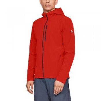 kurtka under armour outrun the storm jacket m czerwona