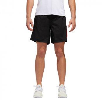 spodenki adidas own the run shorts m czerwono-czarne