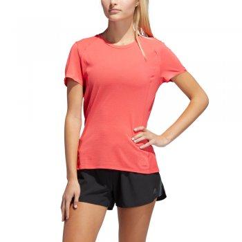 koszulka adidas supernova tee w różowo-czerwona