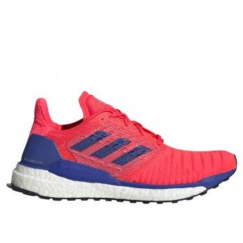 buty adidas solarboost w niebiesko-koralowe