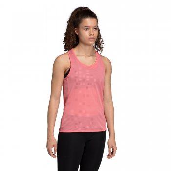 koszulka adidas response light speed tank top w różowo-czerwona