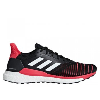 buty adidas solar glide m malinowo-czarne