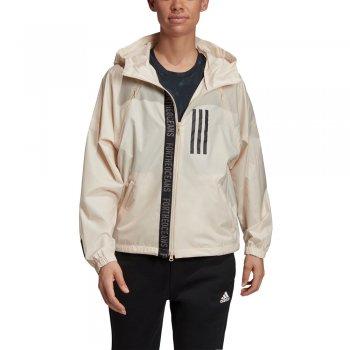 kurtka adidas w.n.d. parley jacket w beżowa