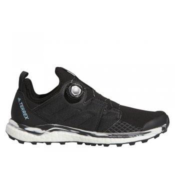 buty adidas terrex agravic boa w szaro-czarne