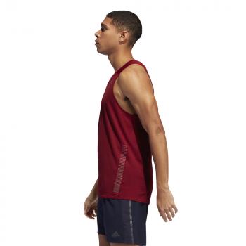 koszulka adidas rise up n run singlet m czerwona