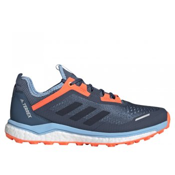 buty adidas terrex agravic flow w koralowo-granatowe