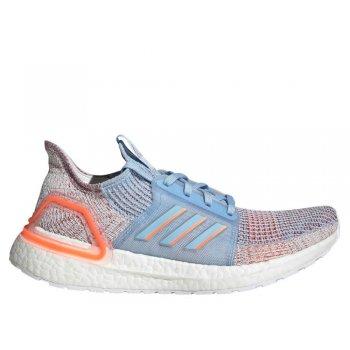 adidas ultraboost 19 w niebiesko-koralowe